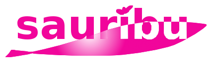 サウリブ ピンク ロゴ